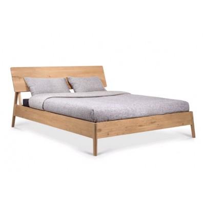 Oak Air bed - without slats - matress size 180x200
