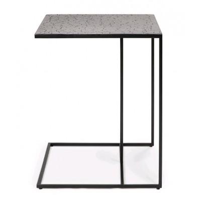 Triptic side table - lava - taupe