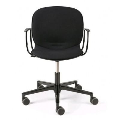 RBM Noor office chair - with armrest - black