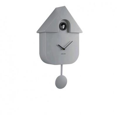Horloge Modern Cuckoo ABS gris