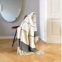 BERBER OFFWHITE THROW 125X150 CM