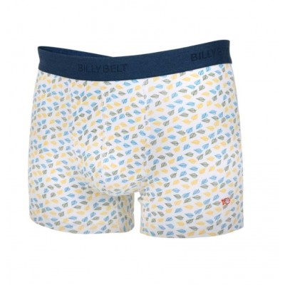 BOXER WHITE LEAF TAILLE M
