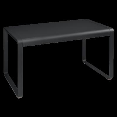 Table mi-hauteur 74 x 80 BELLEVIE CARBONE