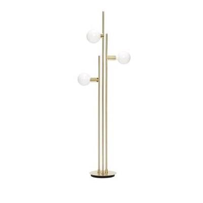 LAMPADAIRE AVEC AMPOULE - LAITON 78X28X H150CM