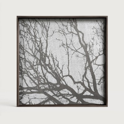 White Tree wooden tray - square - L